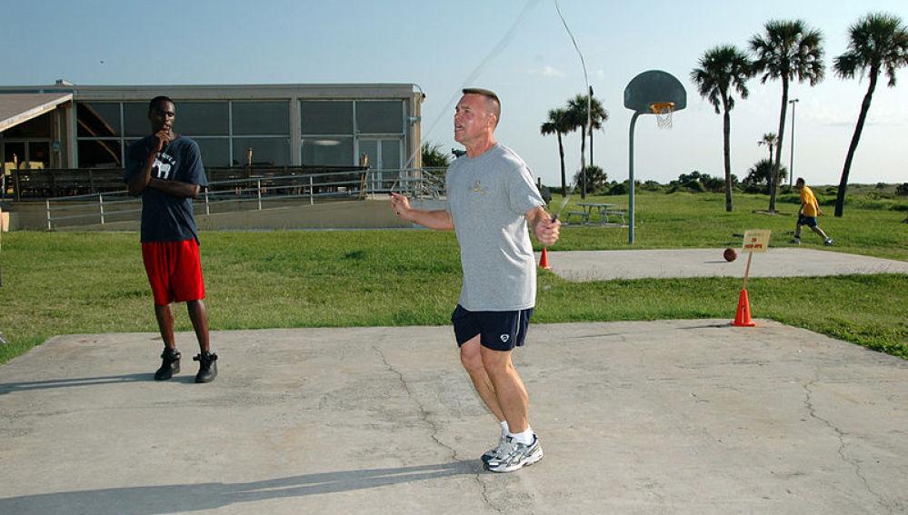 Saltar a la comba es bueno para el running