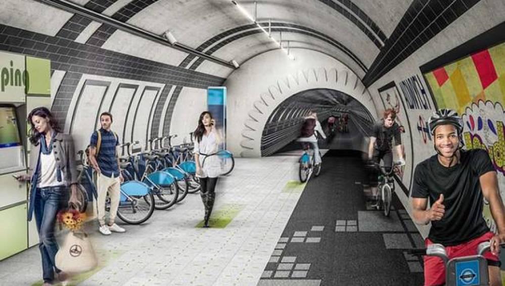 Proyecto para el metro de Londres