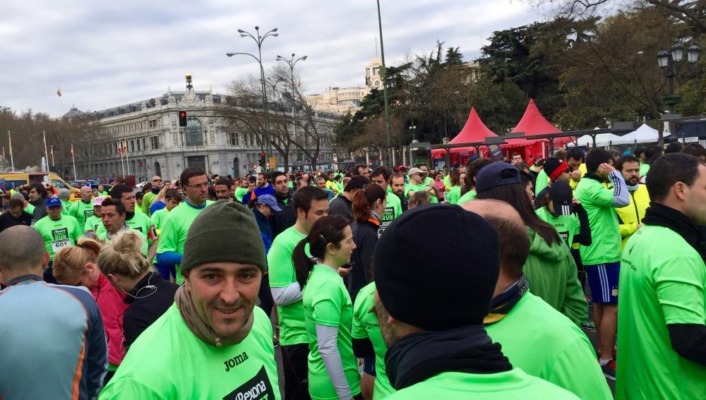Participantes de la Rexona Street Run Madrid