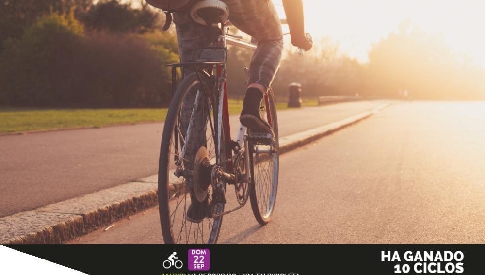 Recompensas por montar en bici