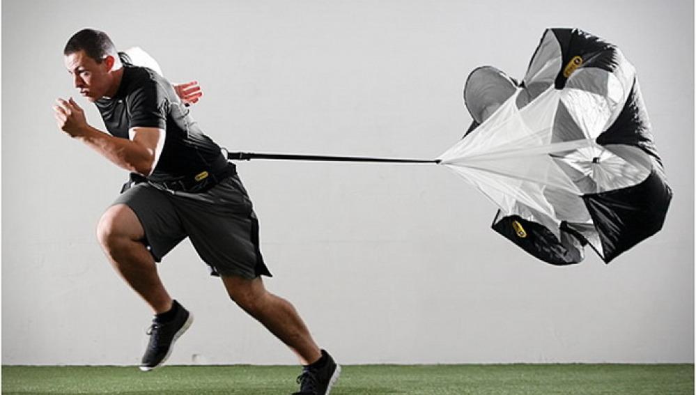 Paracaídas para entrenar sin acompañante