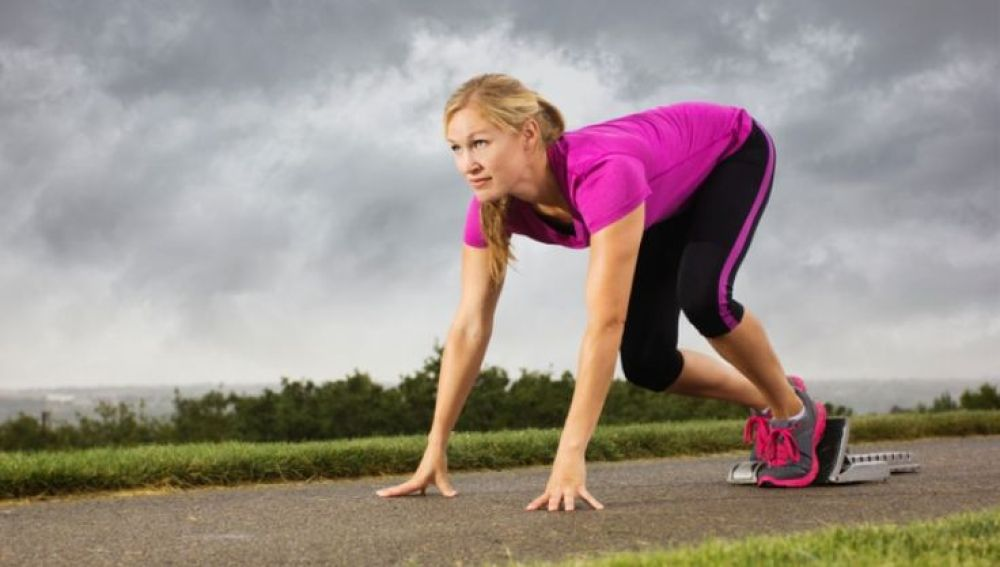 Una runner en una salida de tacos
