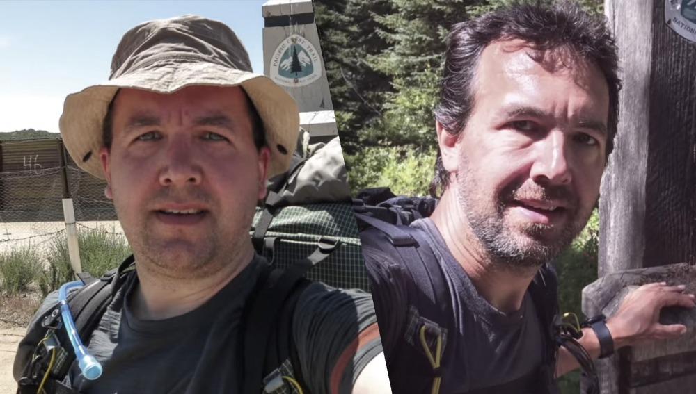 Andy Davidhazy antes y después del camino