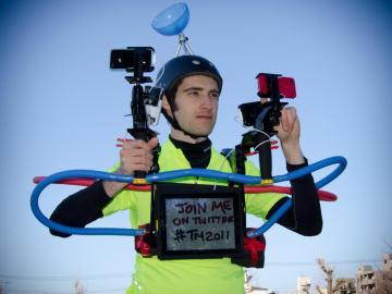 ¿Se podría correr con estos gadgets?