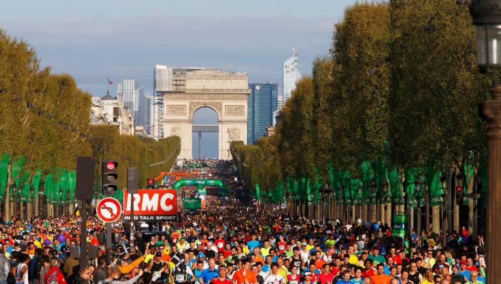 Maratón de París de 2014