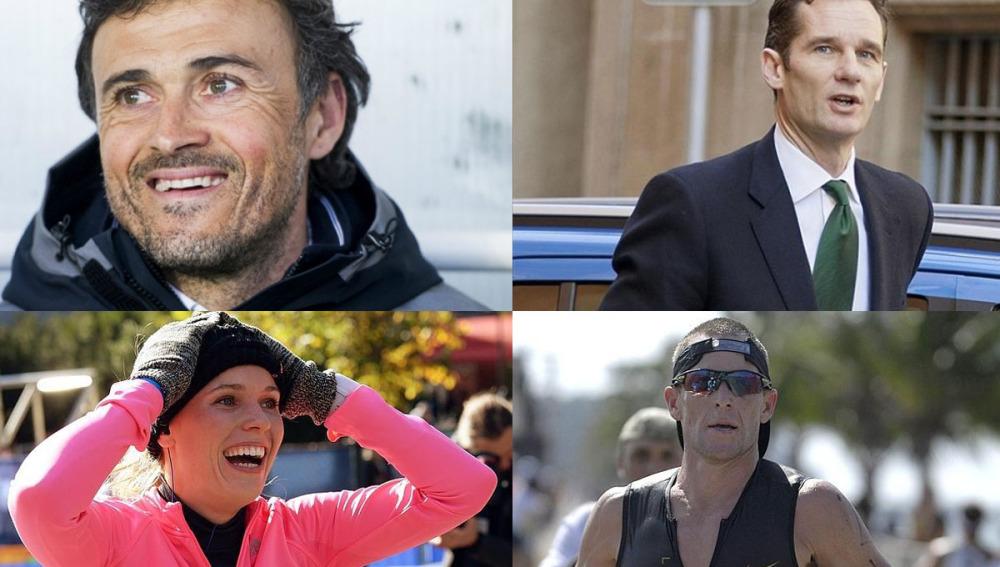 Varios de los deportistas que se pasaron a la maratón