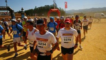 Participantes en los 101 kilómetros de La Legión de Ronda