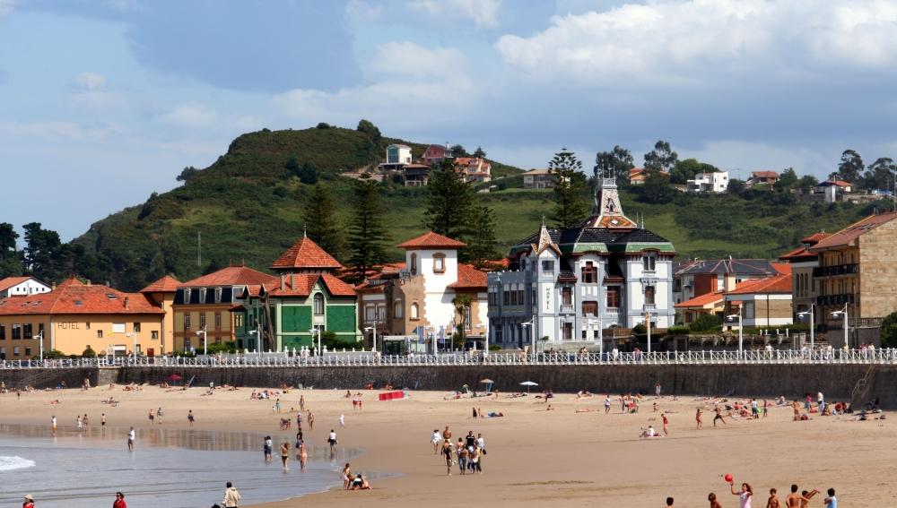 Ribadesella, en la costa asturiana