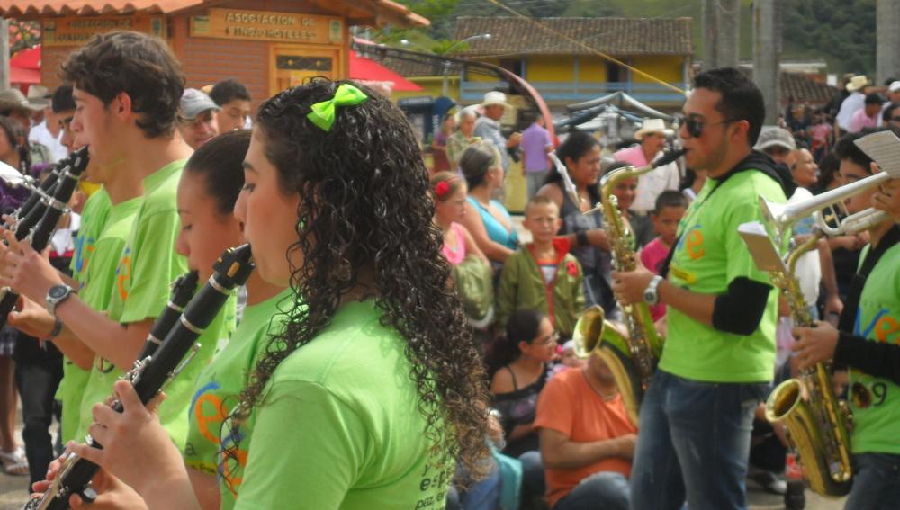 La charanga, un clásico de las fiestas del pueblo