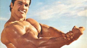 Arnold Schwarzenegger en su momento álgido
