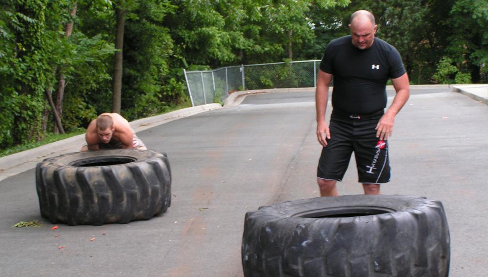Crossfit para hacer un entrenamiento cruzado
