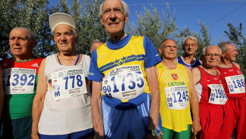 Veteranos del atletismo
