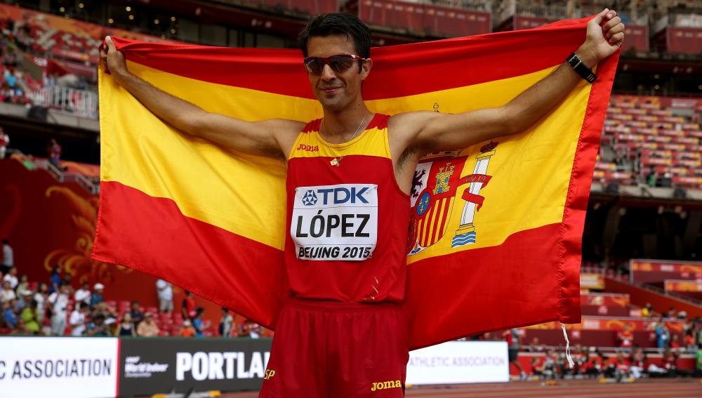 Miguel Ángel López, única medalla en Pekín 2015
