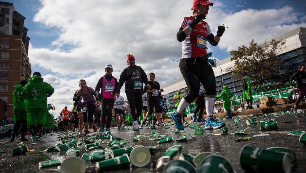 Suciedad en la Maratón de Nueva York