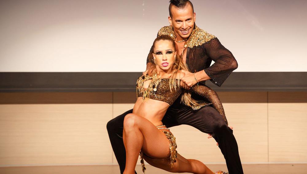 Adrián y Anita en el Singapore Latin Extravaganza Foto MC