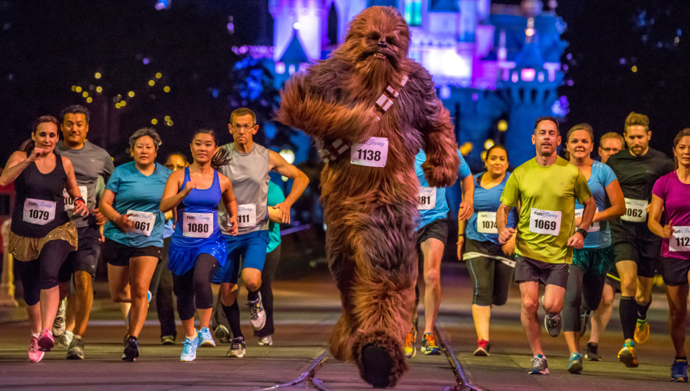 Sí, Chewbacca también corre