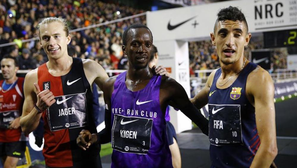 Kigen gana la San Silvestre Vallecana 2015