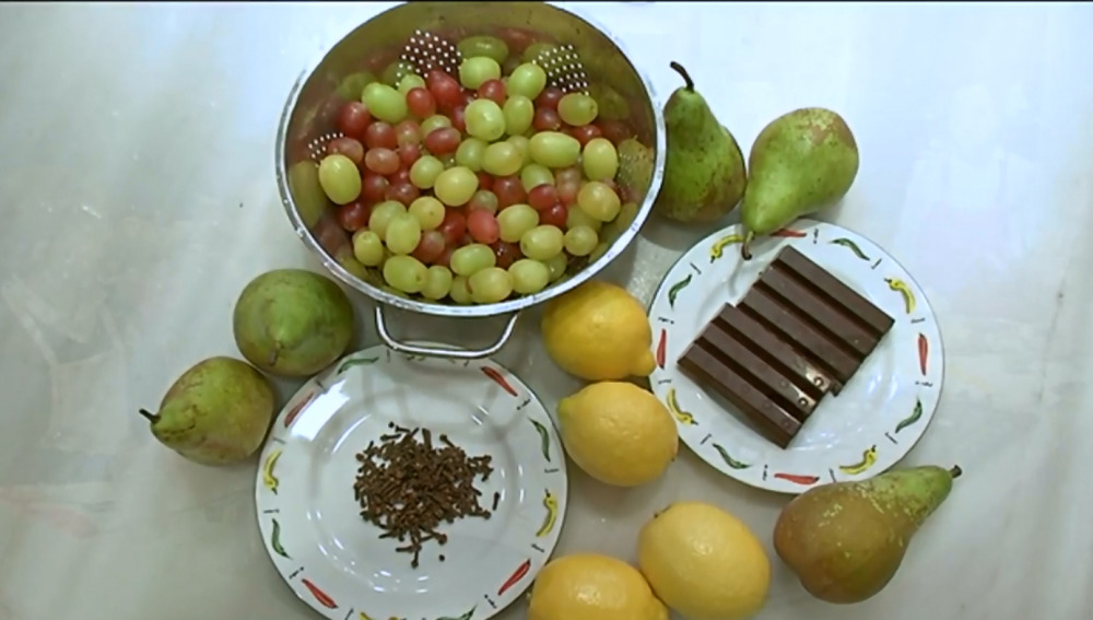 Merienda saludable y divertida a base de frutas