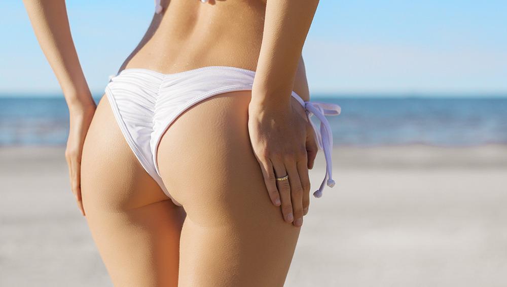 Culo o trasero perfecto en bikini