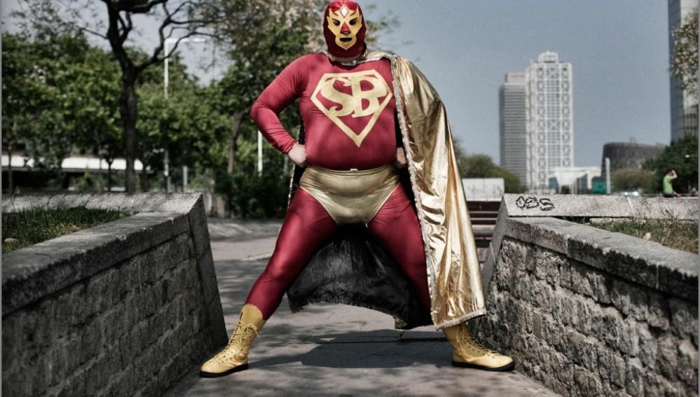 Superbarrio Gómez, un héroe de los de verdad