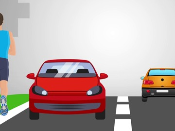 Seis consejos para correr entre coches