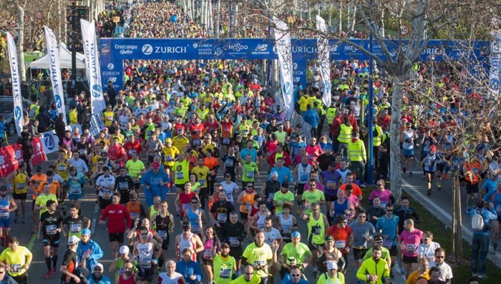 Maratón de Sevilla de 2015