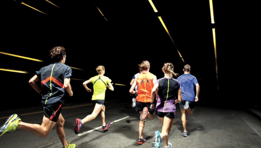 Corredores en una carrera