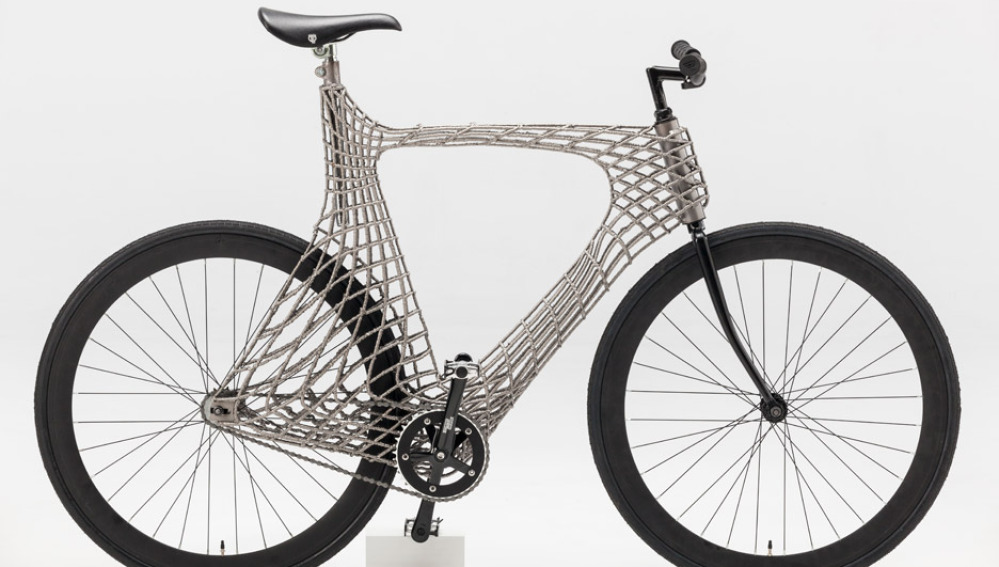 Primera bicicleta impresa en 3D