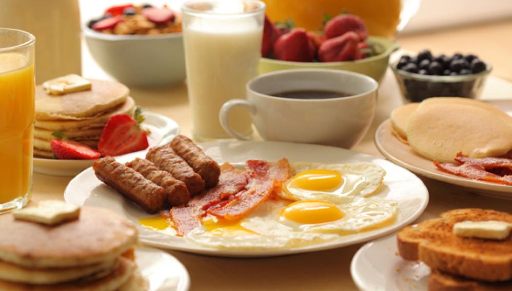 Un desayuno lo más de potente