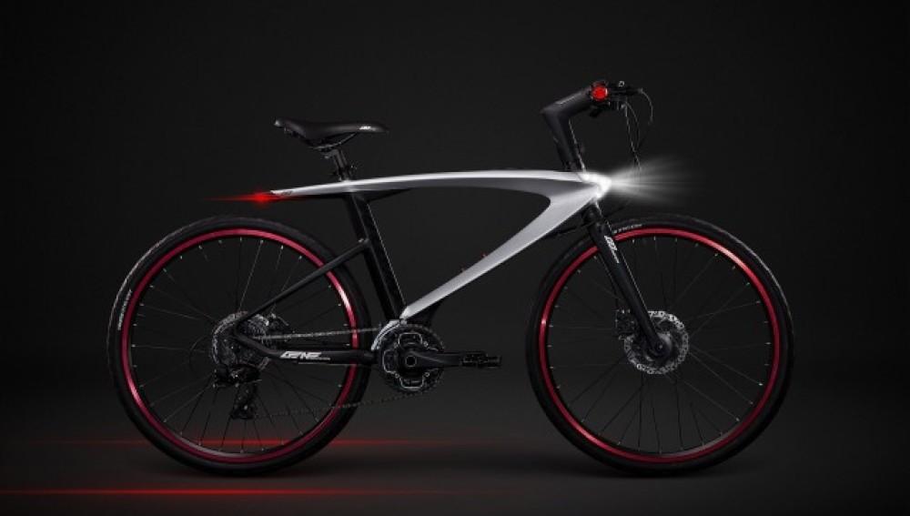 Así es SuperBike, la primera bici con rayo láser