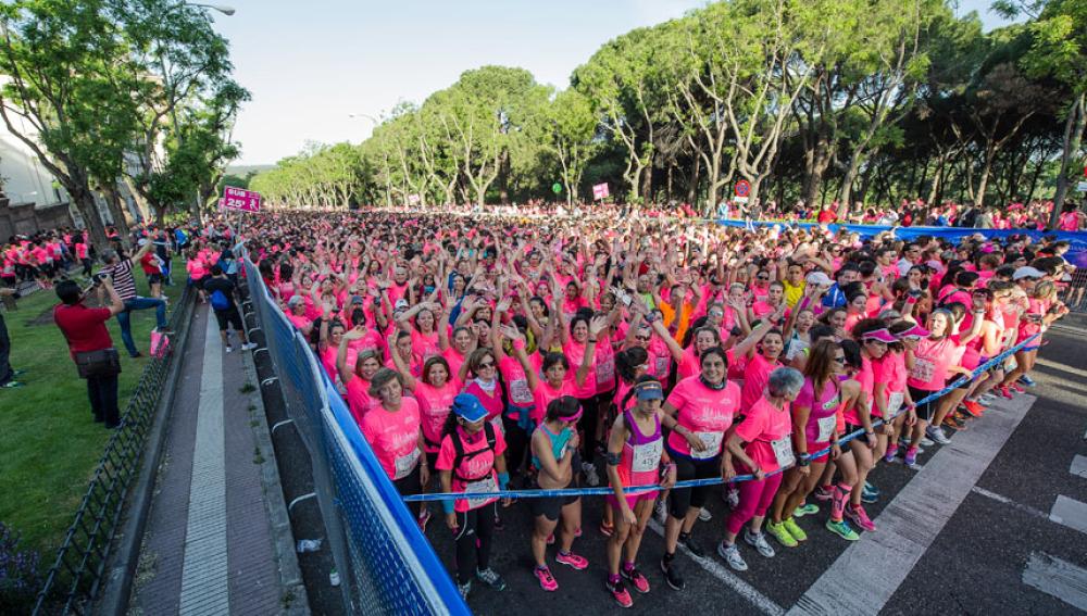 Salida de la Carrera de la Mujer en Madrid