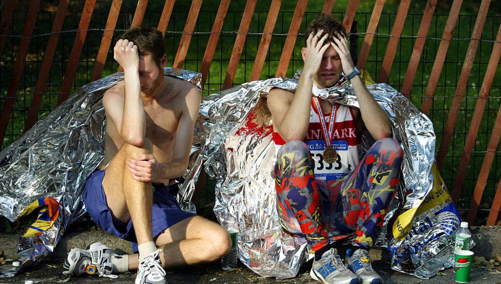¿Unos runners desconsolados por la falta de maratones?