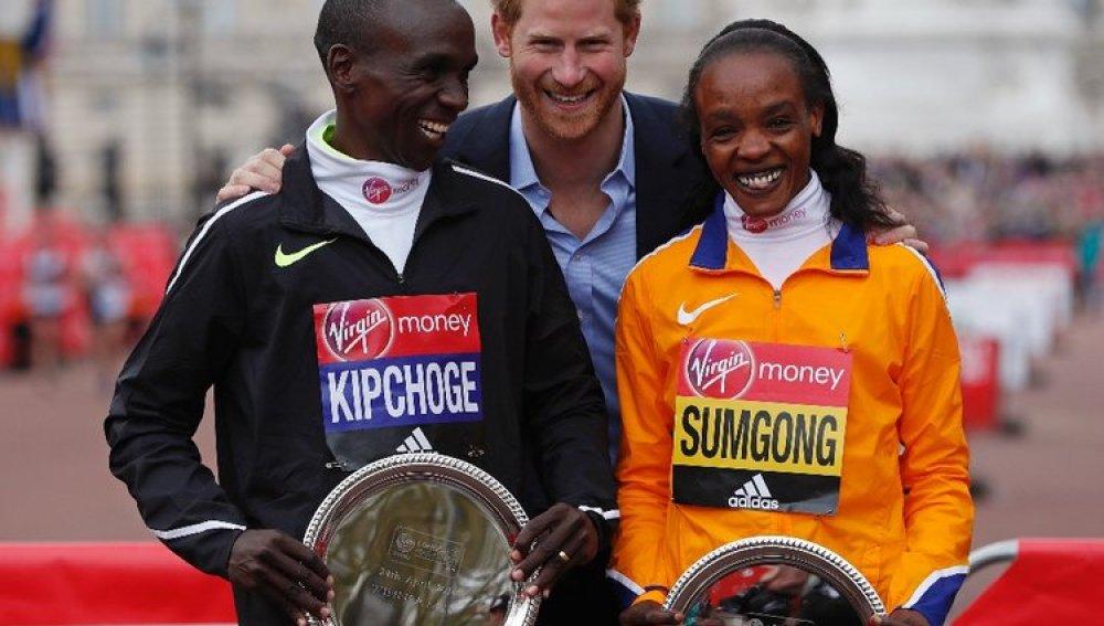 Los ganadores de la maratón de Londres