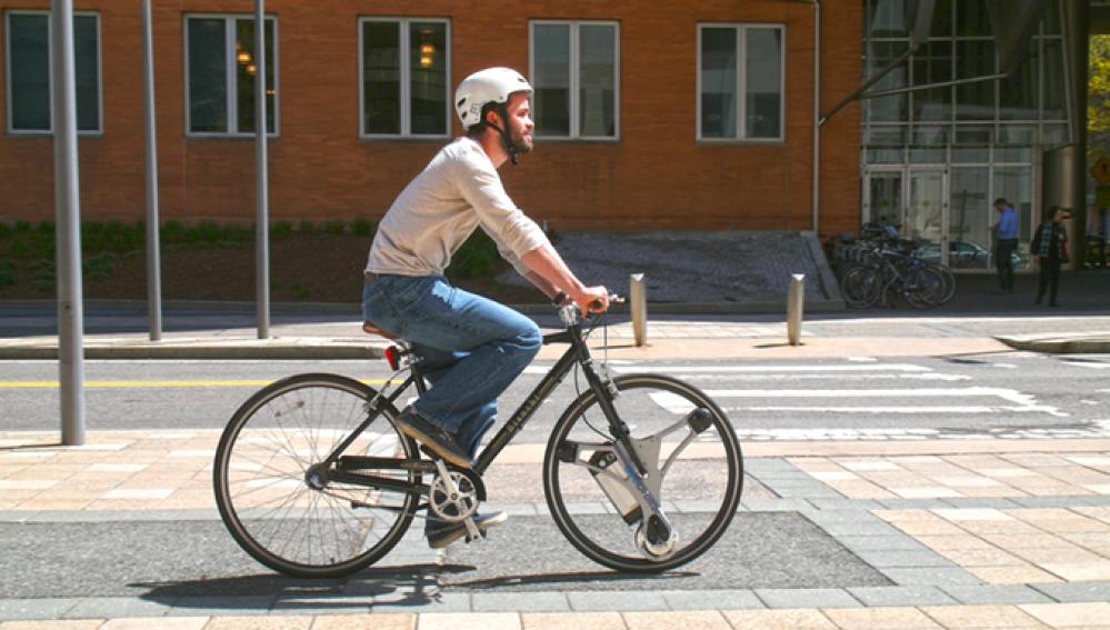 La bici que se convierte en eléctrica