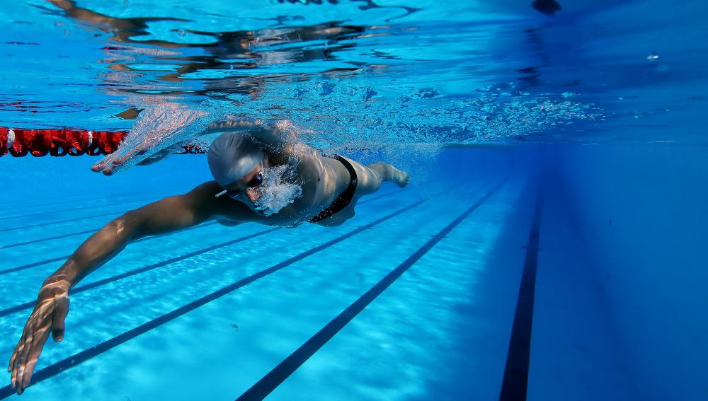 Ejercicio en la piscina