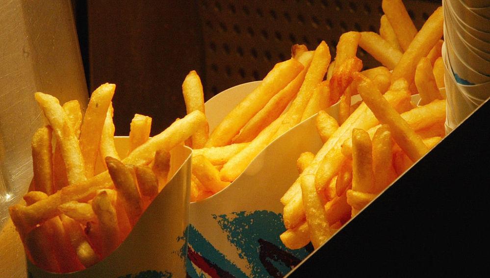 Patatas fritas, esa gran adicción