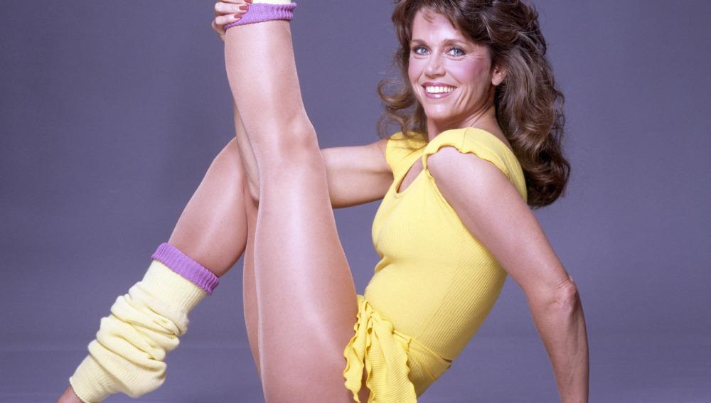Jane Fonda, un mito del aeróbic