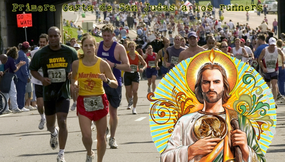 Así sería el santoral runner