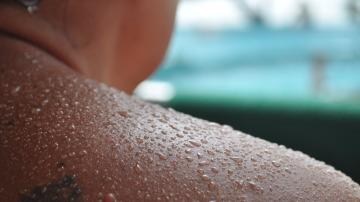 Sudor a flor de piel