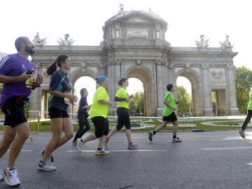 Corredores por Madrid