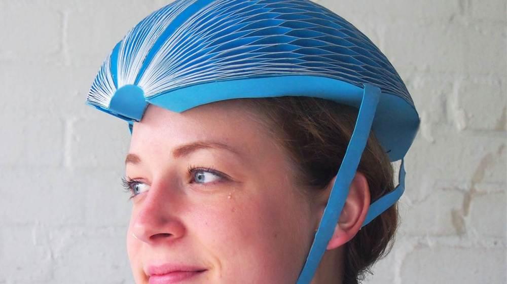 El casco EcoHelmet que te puede salvar la vida