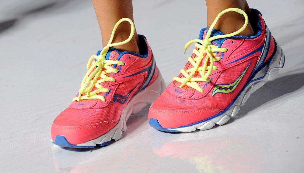 Unas zapatillas para niños