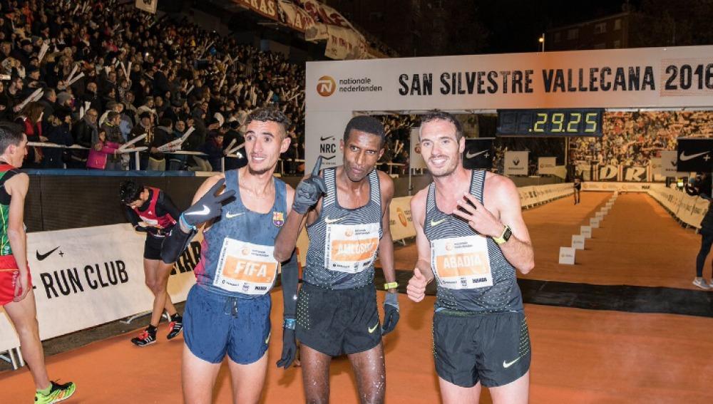 Los ganadores de la San Silvestre Vallecana 2016