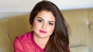 Selena Gomez en una entrevista