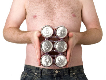 Sixpack, sí, pero de cerveza...