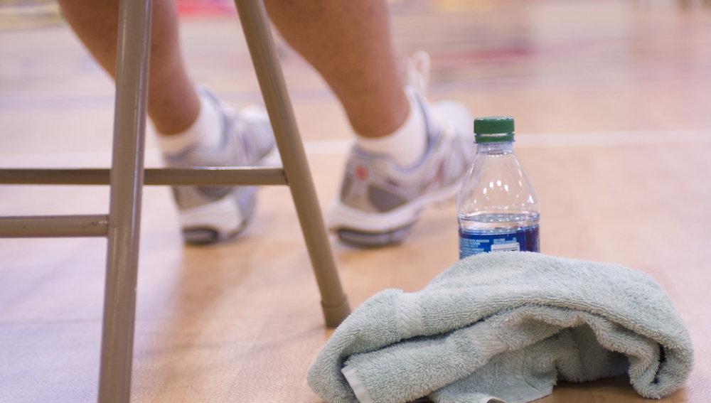 El uso de la toalla en el gimnasio