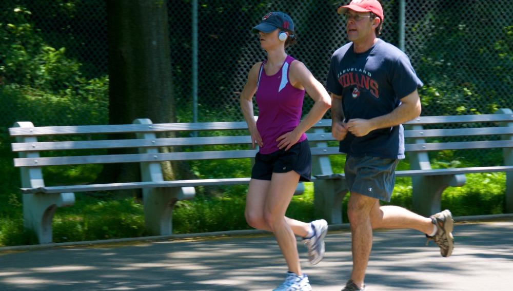 Corriendo en pareja