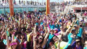 Interior del Zumba Cruise