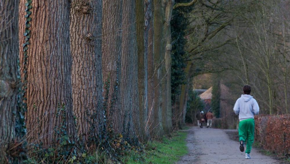 Correr por el parque