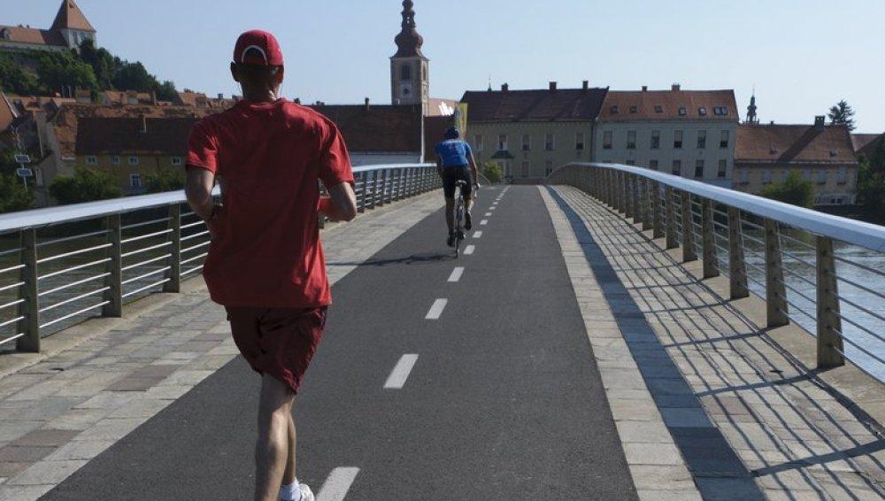 Ciclista vs corredor
